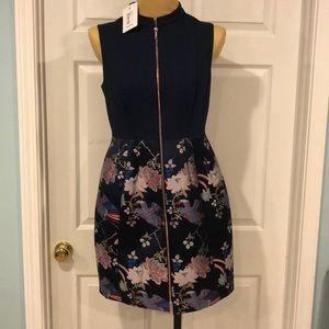 Ted Baker Jacquard Skirted Dress